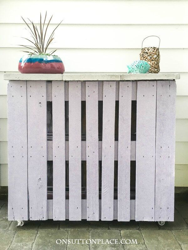 Pallet Outdoor Bar By On Sutton Place