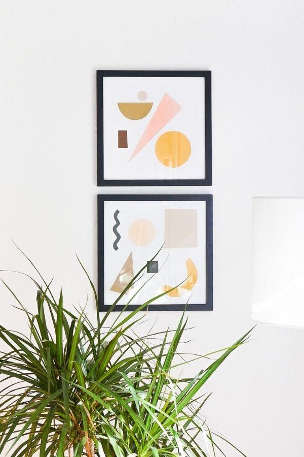 Paper Shapes Wall Art
