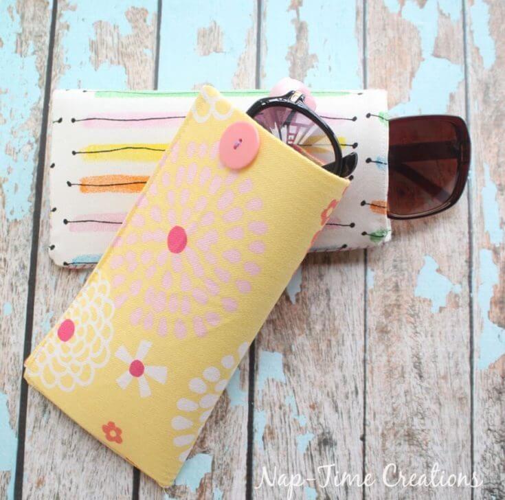 Sew Sun Glasses Case