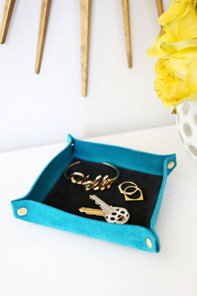 Suede Colorblocked Catchall