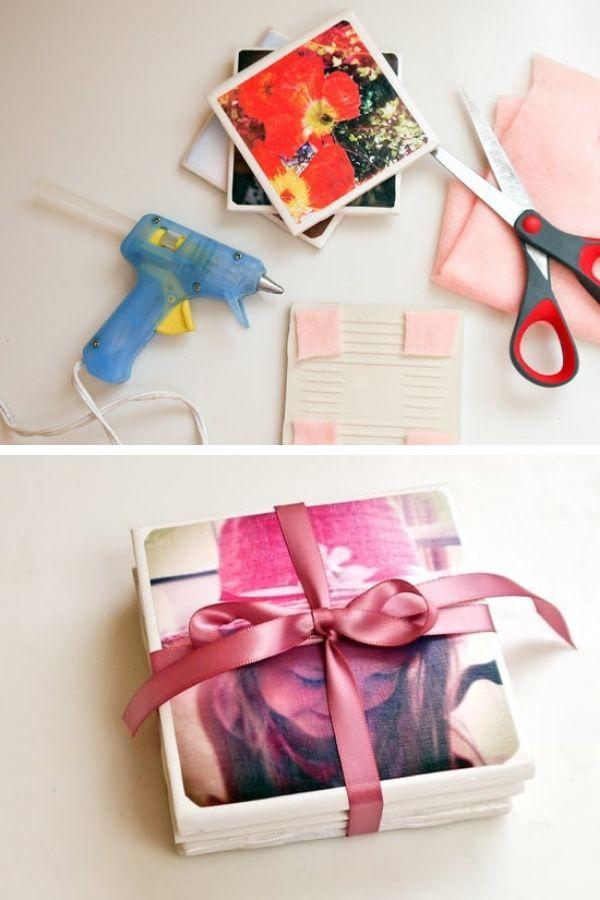 Tile Photo Coasters