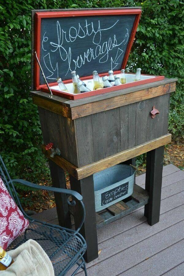 Wood Deck Cooler