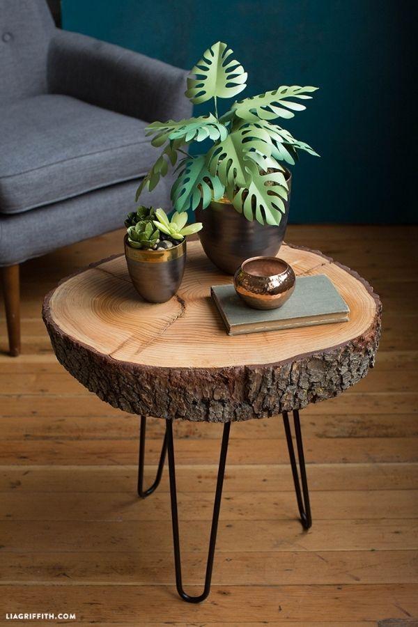 Wood Slice Table