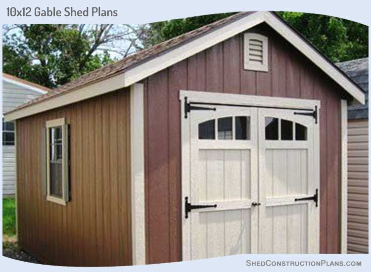 10×12 Storage Shed Plans