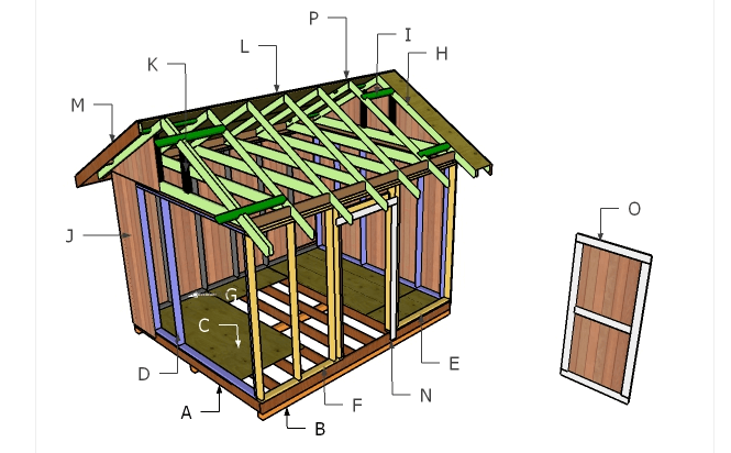 10x12 Shed Plans - How To Specialist