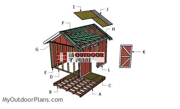 10x12 Shed Plans - My Outdoor Plans