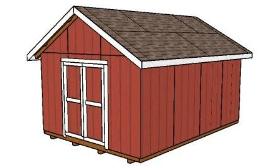 12x16 Shed - My Outdoor Plans
