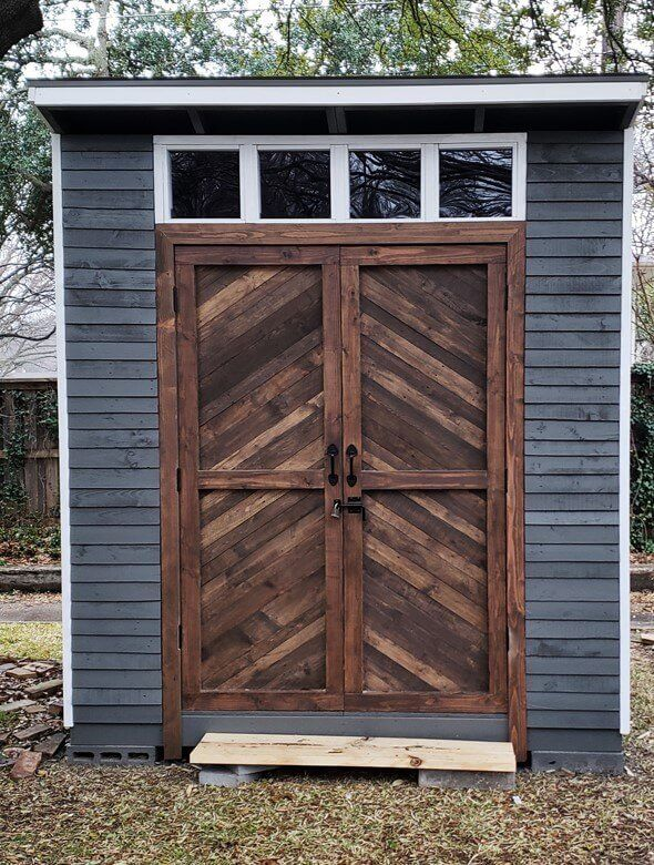 8x8 DIY Lean To Shed