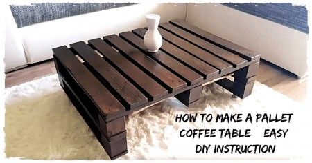 Classic Brow Pallet Coffee Table