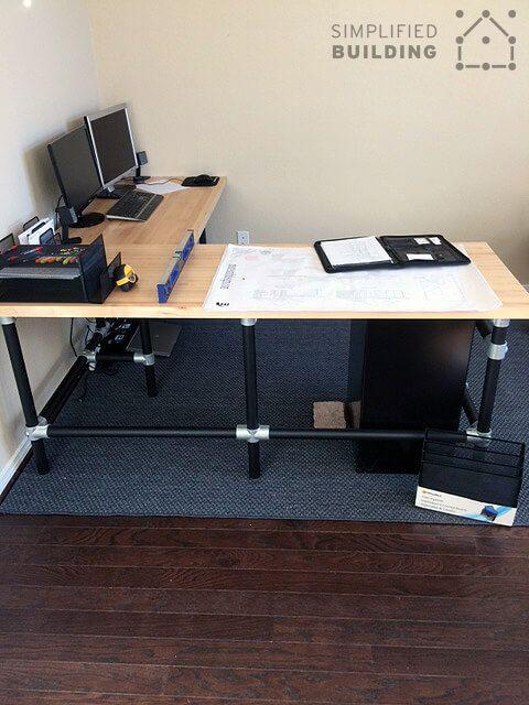 IY Butcher Block Desk
