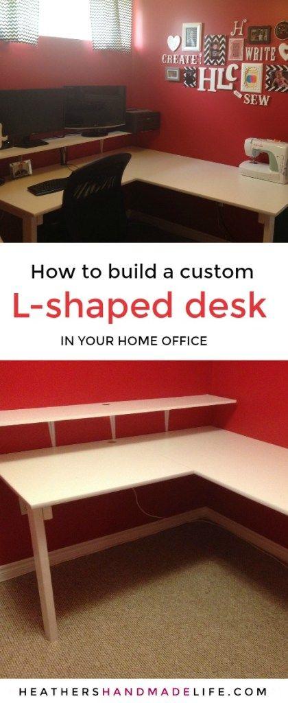 Huge L-Shaped Desk