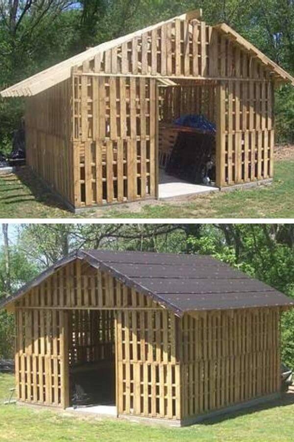 Pallet Shed - Goods Home Design's