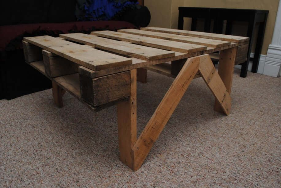 Quick Pallet Coffee Table - Instructables