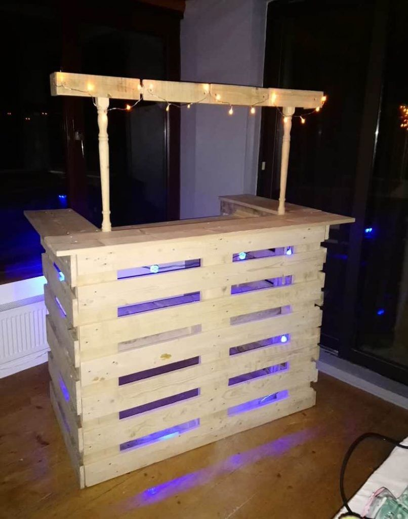 Stair Spindle Pallet Bar