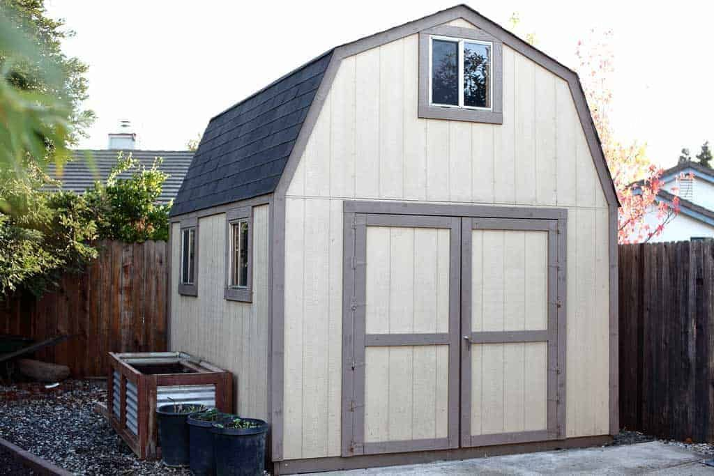Two-Story 10×12 DIY Shed