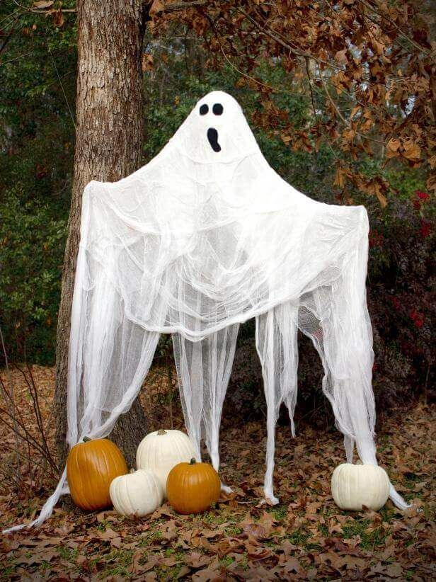 Life-Sized Halloween Ghost