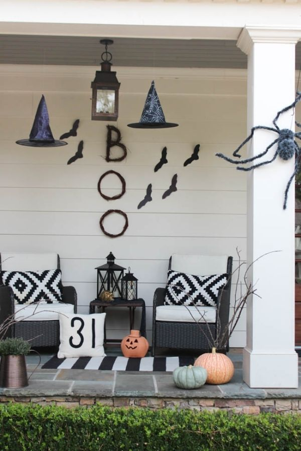 October Front Porch