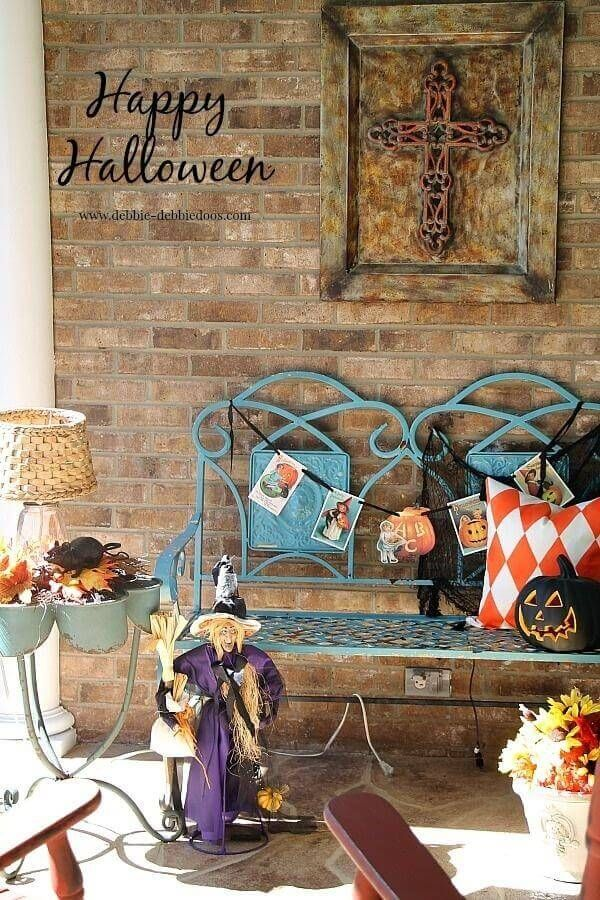 Spooky Southern Halloween Porch