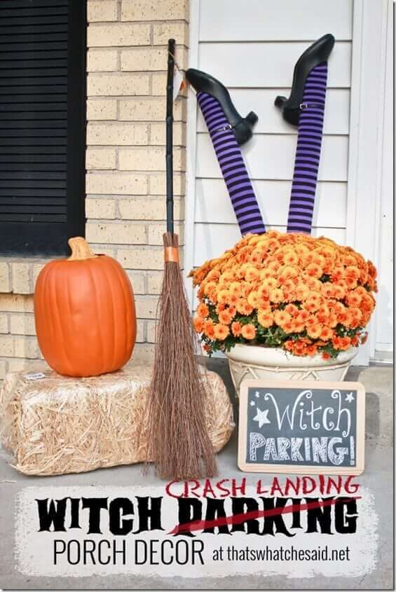 Witch Parking Porch