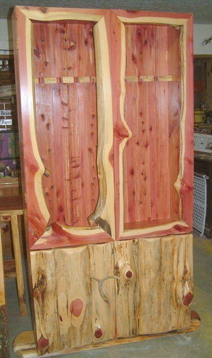 Cedar Gun Cabinet