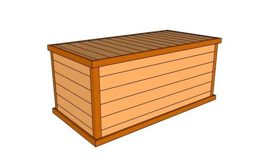 DIY Deck Box Plans