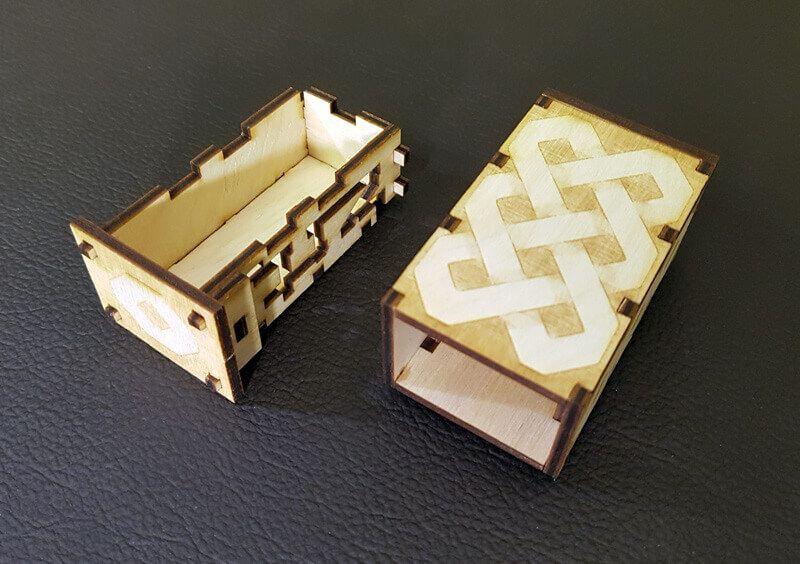 DIY Mini Puzzle Box