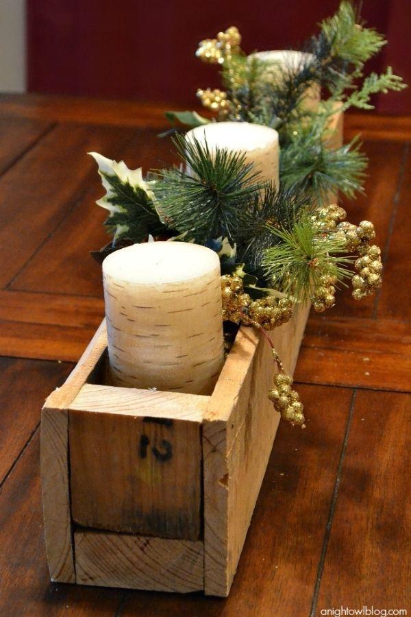DIY Pallet Centerpiece Box