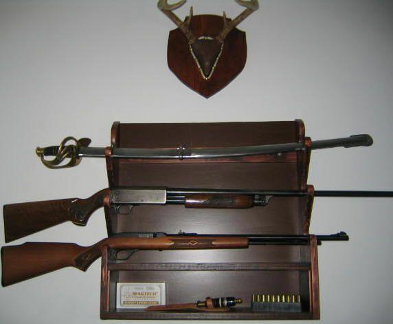 DIY Rifle Rack Plan