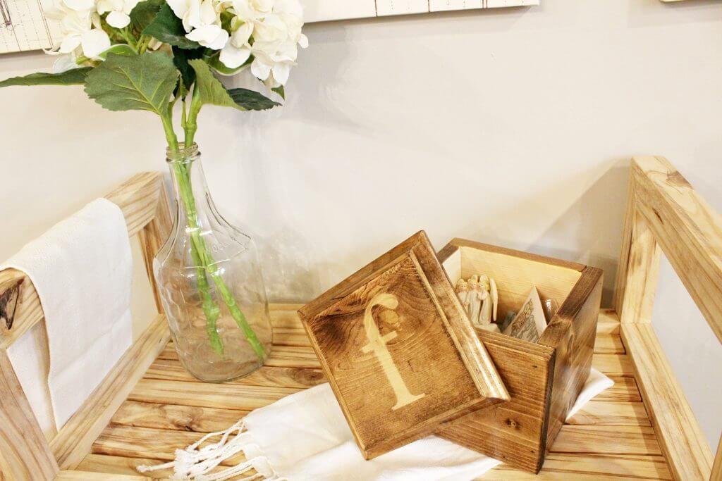 DIY Scrap Wood Keepsake Box