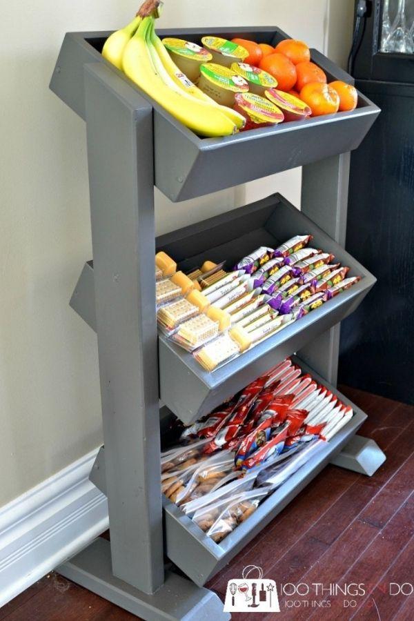 DIY Snack Display Station