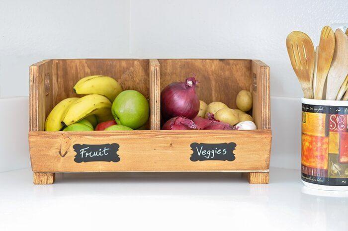 DIY Vegetable Storage Box