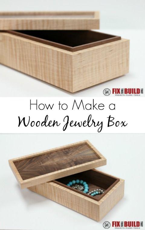 DIY Wooden Jewelry Box