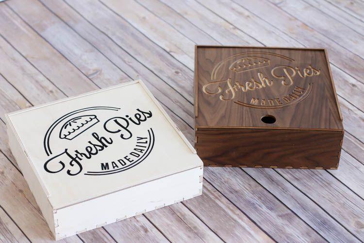 DIY Wooden Pie Box