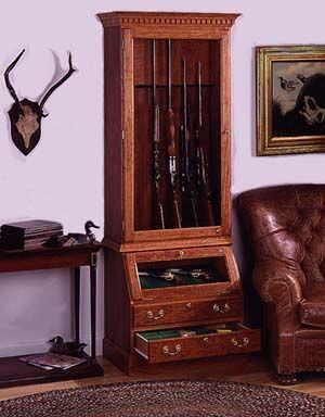 Firearm Display Cabinet