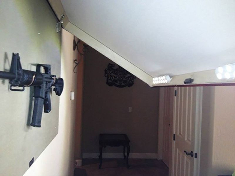 Hidden Picture Gun Storage