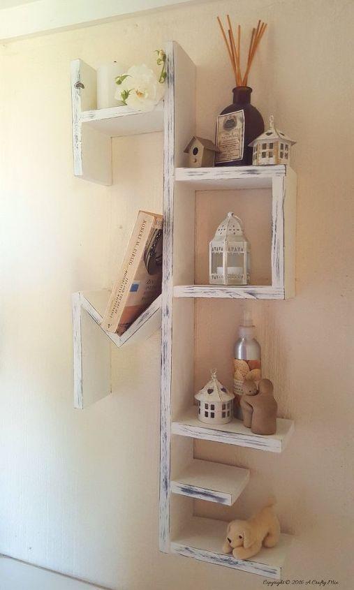 DIY Home Pallet Shelf