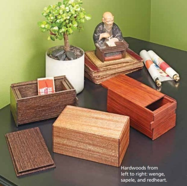 Japanese Puzzle Boxes By Woodsmith