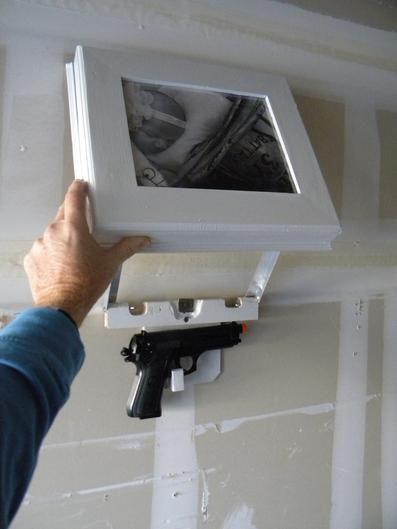 Picture Frame Gun Safe