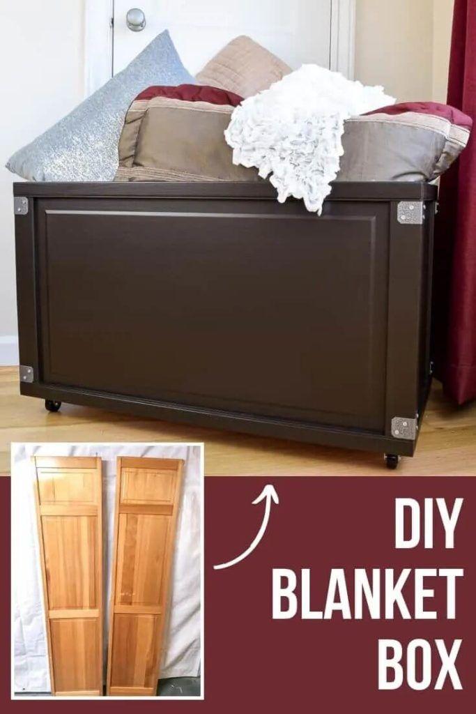 Rolling Blanket Storage Box