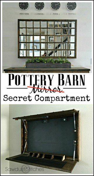 Secret Compartment Mirror