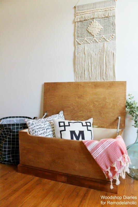 Simple Wooden Storage Chest
