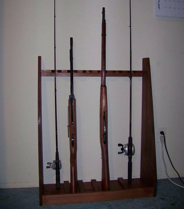Standing Gun Rack