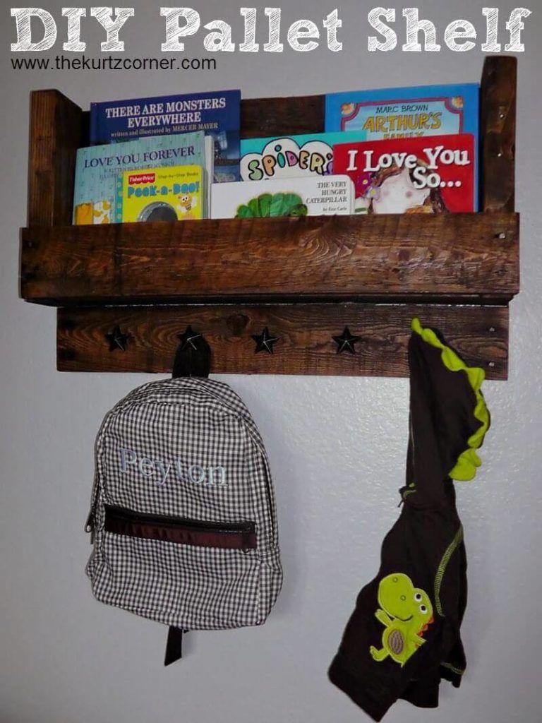 The Kurtz Corner's Pallet Shelf