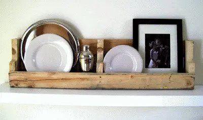The Original Pallet Shelf