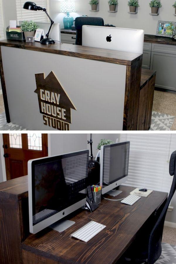 Two-Level Desk DIY