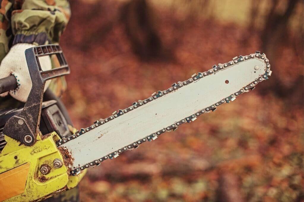 chainsaw chain for hardwood