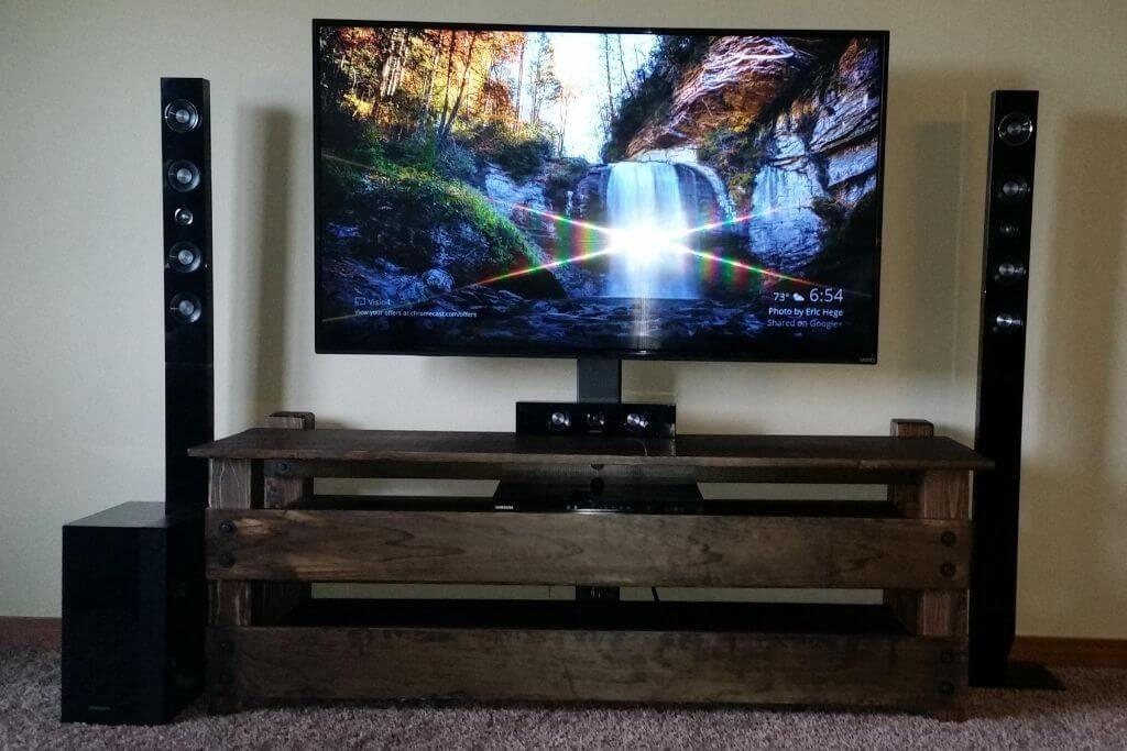 DIY LED TV Stand