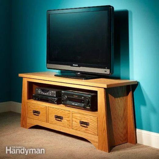 Family Handyman's DIY TV Stand