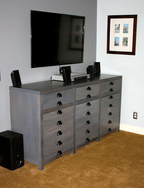 Restoration Hardware Printer Cabinet's Knock-Off