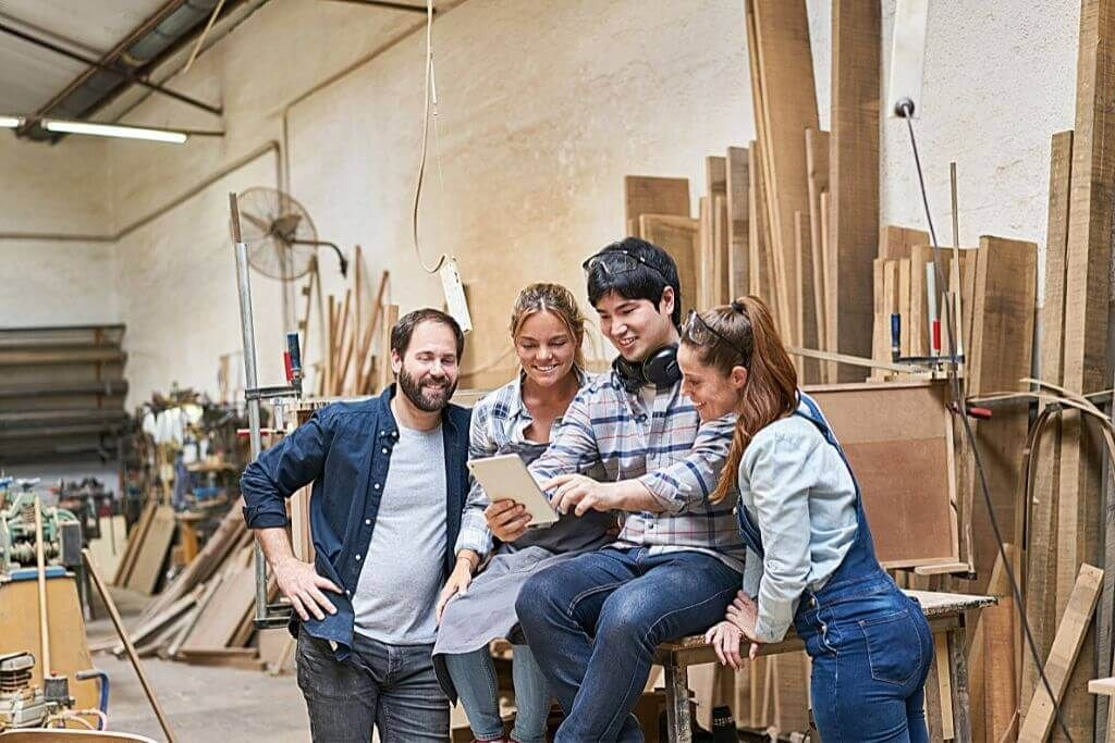 successful woodworking businesses